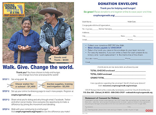 Donation Envelope